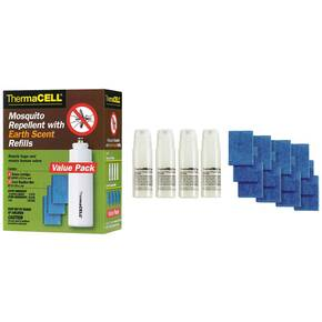 ThermaCell Mosquito Repellent Refill - Value Pack Earth Scent