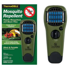 ThermaCell Mosquito Repellent Appliance With Turn Dial - Olive