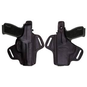 Tagua Gunleather Thumb Break Belt Holster for Beretta PX4 Storm Black Right Hand