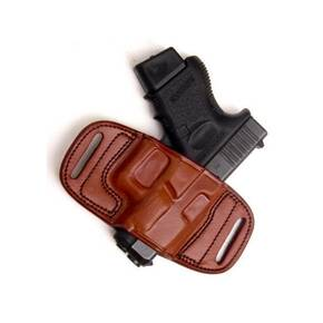 Tagua Gunleather Quick Draw Belt Holster for Walther P99 Brown Right Hand