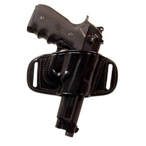 Tagua Gunleather Quick Draw Belt Holster for H&K USP 45 Black Right Hand