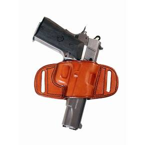 Tagua Gunleather Quick Draw Belt Holster for H&K USP 45 Brown Right Hand