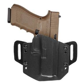 Kydex open top belt Holster FOR Glock 17 Black Right Hand