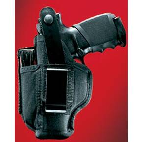 "Uncle Mike's GunMate Model 211 Ambidextrous Hip Holsters Large Frame Pistol up to 4"" Barrel"