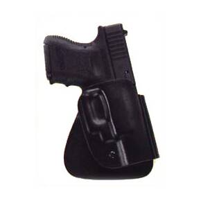 Uncle Mike's Kydex Open Top Design Holsters Paddle - Right Hand  - Up to 5-inch barrel 1911 type pistols
