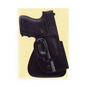 Uncle Mike's Kydex Open Top Design Holsters Paddle - Left Hand  - Up to 5-inch barrel 1911 type pistols