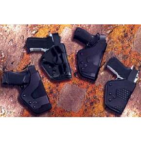 Uncle Mike's #22 Mirage Basketweave Pro-3 Duty Holsters Left Hand Black Nylon Sig Sauer 9mm;Sig Sauer .40;Sig Sauer .45;Sig Sauer 38