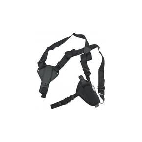 Uncle Mike's Plain Black Nylon Shoulder Holster 8700 AM#0