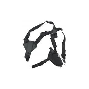 Uncle Mike's Plain Black Nylon Shoulder Holster 8716 AM#16