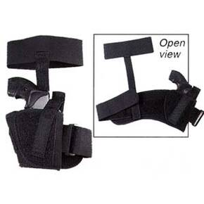 "Uncle Mike's Sidekick Ankle Holsters Fits 3"" - 4"" Barrel, Med. Autos .32 - .380 cal. - left Hand"