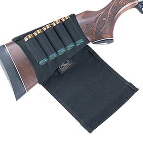 Uncle Mike's Plain Black Cartridge Holder Shotgun Flap