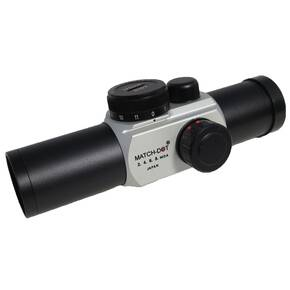 Ultradot Matchdot 30mm Variable MOA Red Dot Sight - Silver Matter
