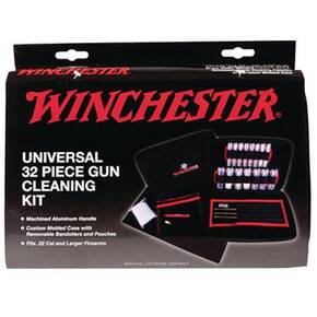 DAC Technologies Winchester Universal Cleaning Kit - 32 Pieces Soft Sided Case.
