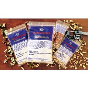 Winchester Unprimed Brass Handgun Cartridge Cases 100/ct .357 Mag