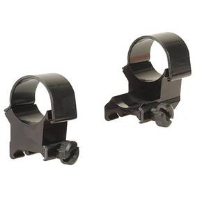 "Weaver Detachable Extension Top Mount Aluminum Scope Rings - 1"" - X-High EXT - Black"