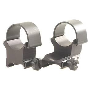"Weaver Detachable Extension Top Mount Aluminum Scope Rings - 1"" - X-High EXT - Matte"