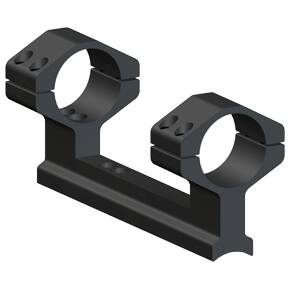 Weaver 1-Piece Muzzleloader Integral Ring & Scope Base Mount System Thompson Center Encore, Omega, Triumph, Impact - Matte - Medium