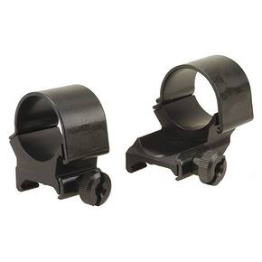"Weaver Detachable Extension Top Mount Aluminum Scope Rings - 1"" High EXT - Matte"