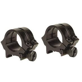 "Weaver Quad Lock Detachable Scope Rings 1"" Medium - Black"