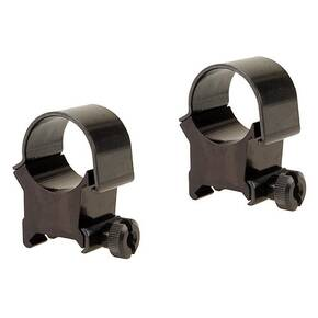 "Weaver Detachable Top Mount Aluminum Scope Rings 1"" X-High - Black"