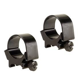 Weaver Detachable Top Mount Aluminum Scope Rings 30mm Low - Black