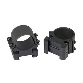 "Weaver Sure Grip Windage Adjustable Detachable Aluminum Scope Rings (4-Screws) - 1"" High, Matte"