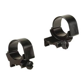 Weaver Detachable Extension Top Mount Aluminum Scope Rings - 30mm Low EXT - Black