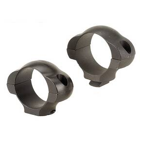 "Weaver Steel Dovetail Scope Rings with Rear Windage Adjustments - 1"" Low - Matte"