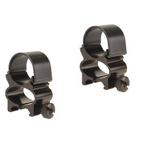 "Weaver Detachable See-Thru Scope Rings - 1"" - Black"