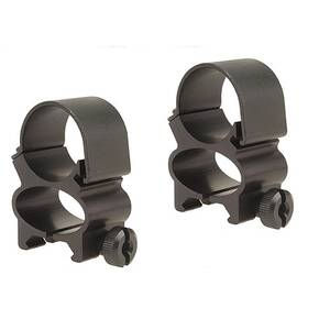 "Weaver Detachable See-Thru Scope Rings - 1"" Matte"