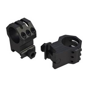 "Weaver 6-Hole Picatinny Tactical Scope Rings 1"" High"