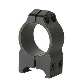"Warne Maxima Fixed Scope Rings with Grooved Receiver - 1"", High, Matte CZ 527 16mm Dovetail"