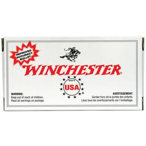 Winchester Metric Caliber Rifle Ammunition 7.62x54R 180 gr FMJ 2850 fps - 20/box