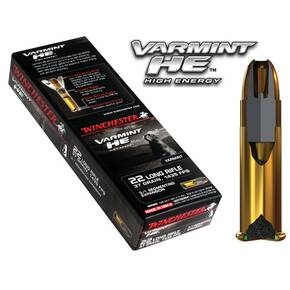 Winchester Varmint High Energy .22 LR 37 gr SP 1400 fps 50/box