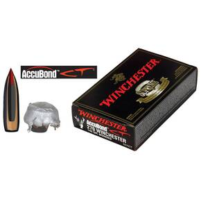 Winchester AccuBond CT Rifle Ammunition .270 Win 140 gr AB 2950 fps - 20/box