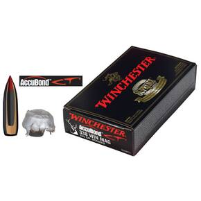 Winchester Expedition Big Game Rifle Ammunition .338 Win Mag 225 gr AB 2800 fps 20/ct