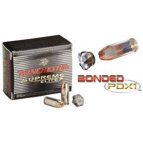 Winchester PDX1 Defender Handgun Ammunition .40 S&W 180 gr PDX1  20/box
