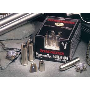 Winchester Supreme Platinum Tip Handgun Ammunition .41 Mag 240 gr HP 1250 fps 20/box