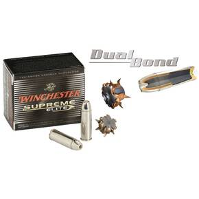 Winchester Supreme Elite Dual Bonded Handgun Ammunition .44 Mag 240 gr HP 1300 fps 20/box