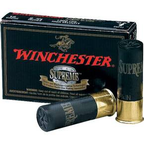 "Winchester Double X High-Velocity Buckshot 12 ga 3""  12 plts #00 1450 fps - 5/box"