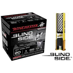 "Winchester Blind Side Hex Shot 20 ga 3""  1 1/16 oz #5 1300 fps - 25/box"