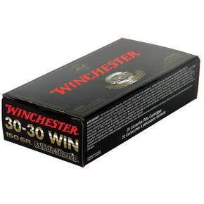 Winchester Ballistic Silvertip Rifle Ammunition .30-30 Win 150 gr BST 2390 fps - 20/box