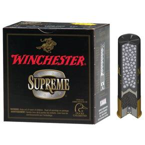 "Winchester Supreme High-Velocity Drylok Super Steel Waterfowl 10 ga 3 1/2"" MAX 1 3/8 oz #2 1450 fps - 25/box"
