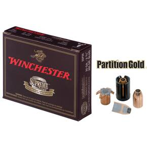 "Winchester Supreme Partition Gold Slug 20 ga 2 3/4""  260 gr Slug 1800 fps - 5/box"