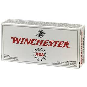 Winchester USA Rifle Ammunition .22-250 Rem 45 gr JHP 4000 fps - 40/box