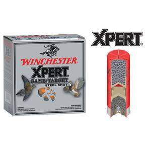 "Winchester Xpert Steel 12 ga 2 3/4""  1 oz #7 1325 fps - 25/box"