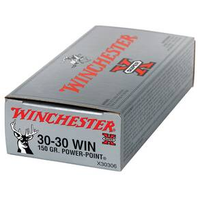 Winchester Super-X Power Point Rifle Ammunition .30-30 Win 150 gr PP 2390 fps - 20/box