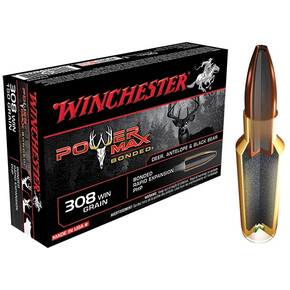 Winchester Super-X Power Max Bonded Rifle Ammunition .308 Win 180 gr PHP  - 20/box