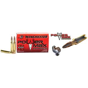 Winchester Super-X Power Max Bonded Rifle Ammunition .338 Win Mag 200 gr PHP 2690 fps - 20/box