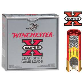 "Winchester Super-X High-Brass .410 ga 3""  3 3/4 oz #7.5  - 25/box"